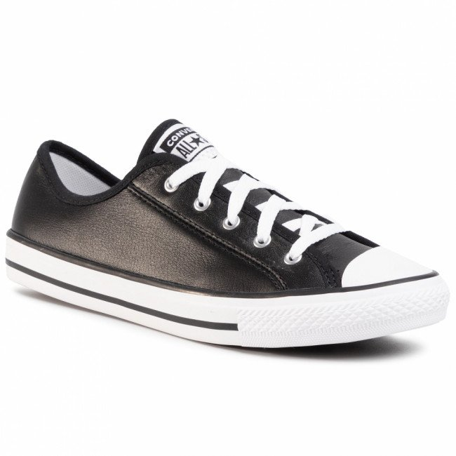 Tramky CONVERSE - Ctas Dainty Ox 564985C Black/White/White