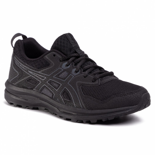 Topánky ASICS - Trail Scout 1012A566 Black/Carrier Grey 001