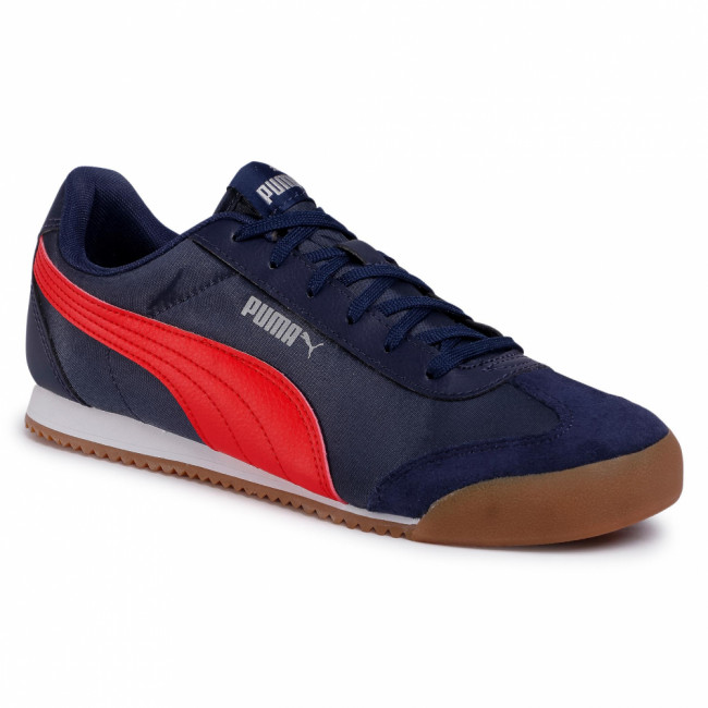 Sneakersy PUMA - Turino Nl 371114 02 Peacoat/High Risk Red