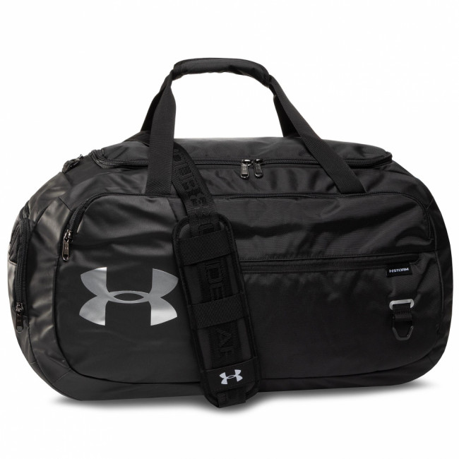 Taška UNDER ARMOUR - Undeniable Duffel 4.0 1342657-001 Black/Black