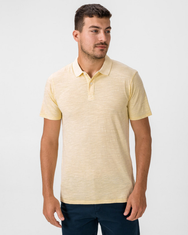 Jack & Jones New Overdyed Polo tričko Žltá