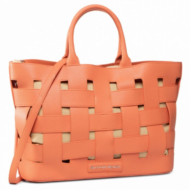 Kabelka SILVIAN HEACH - Shopper Bag Big Sh Dafne RCP20138BO Hot Coral W3458