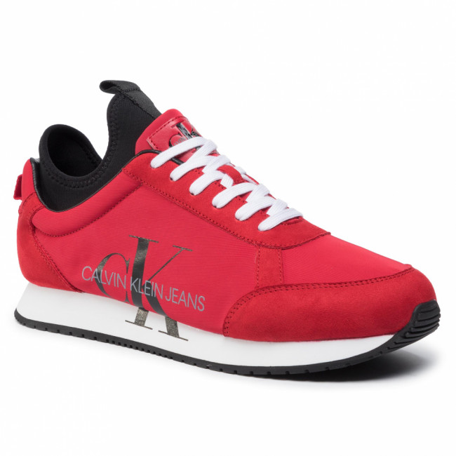 Sneakersy CALVIN KLEIN JEANS - Jemmy B4S0136 Racing Red