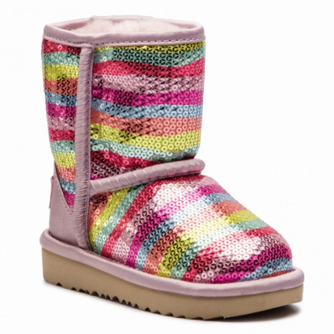 Topánky UGG - T Classic Short II Mural 1102717T Rbw