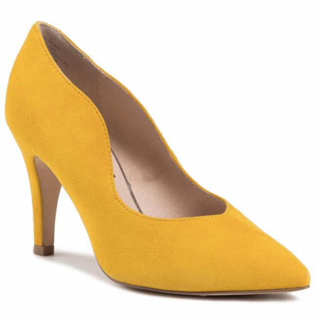 Lodičky CAPRICE - 9-22403-24 Yellow Suede 641
