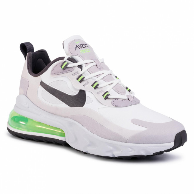 Topánky NIKE - Air Max 270 React CI3866 100 Summit White/Electric Green