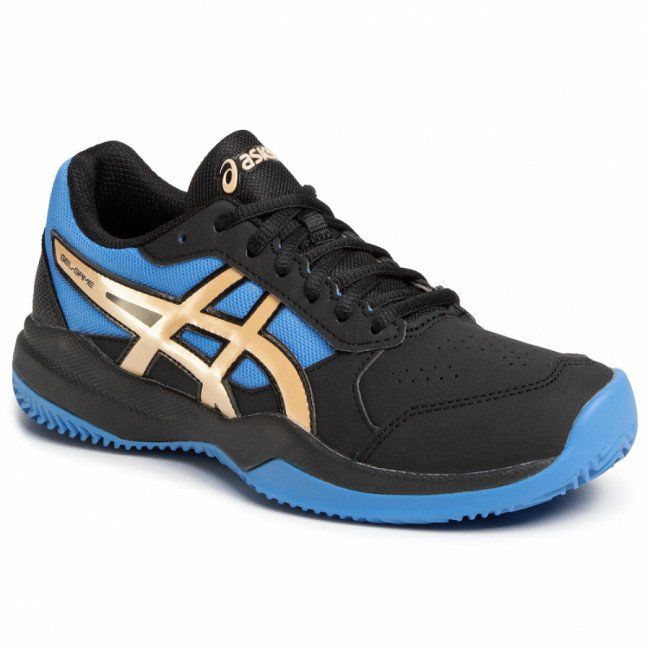Topánky ASICS - Gel-Game 7 Clay/Oc Gs 1044A010 Black/Champagne 012