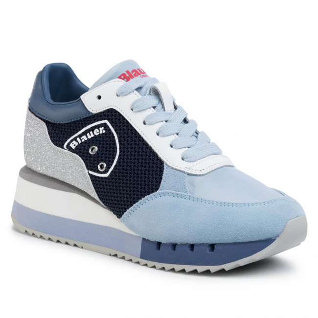 Sneakersy BLAUER - S0CHARLOTTE05/NES Light Blue