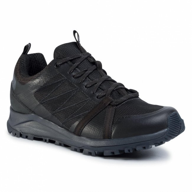 Trekingová obuv THE NORTH FACE - Litewave Fastpack II Wp NF0A4PF4CA01 Tnf Black/Ebony Grey