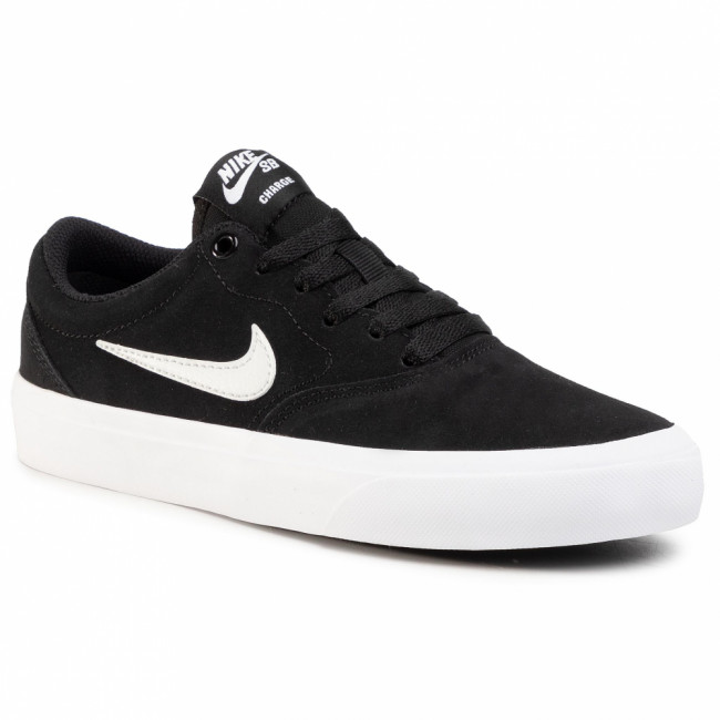 Topánky NIKE - Sb Charge Suede (Gs) CT3112 002 Black/Photon Dust/Black/Black