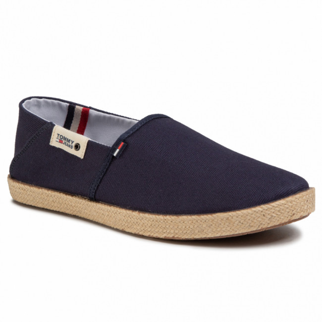 Espadrilky TOMMY JEANS - Summer Shoe EM0EM00423 Twilight Navy C87