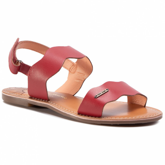 Sandále PEPE JEANS - Mandy Waves PGS90147  Red 255