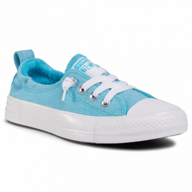 Tramky CONVERSE - Ctas Shoreline Slip 564338C  Gnarly Blue/White/White