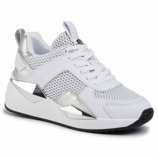 Sneakersy GUESS - Typical2 FL5TP2 FAM12 WHITE