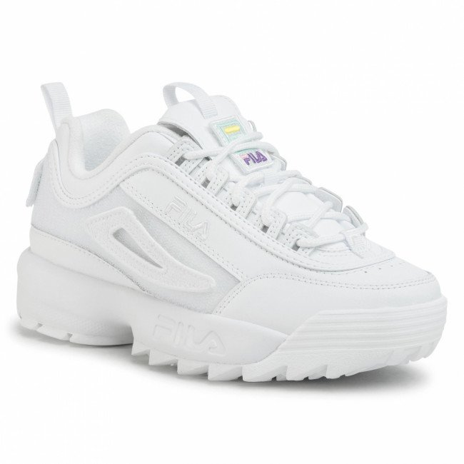 Sneakersy FILA - Disruptor Patches Wmn 1010864.1FG White