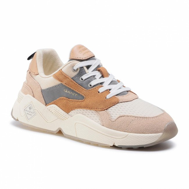 Sneakersy GANT - Nicewill 20533687  Macadamia Beige/Gray G1166