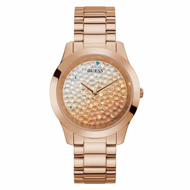 Hodinky GUESS - Crush GW0020L3 ROSE GOLD