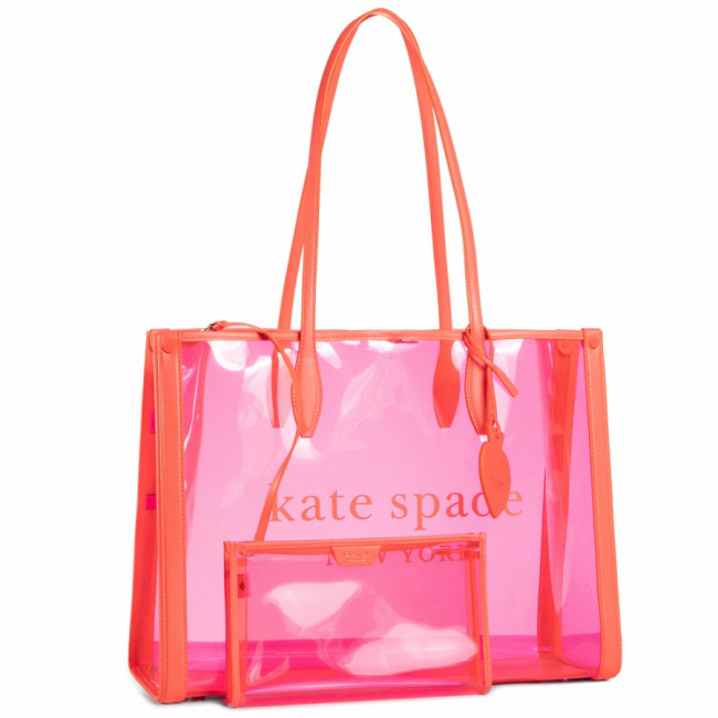 Kabelka KATE SPADE - Market See Through PXRUB294 Pink 650U