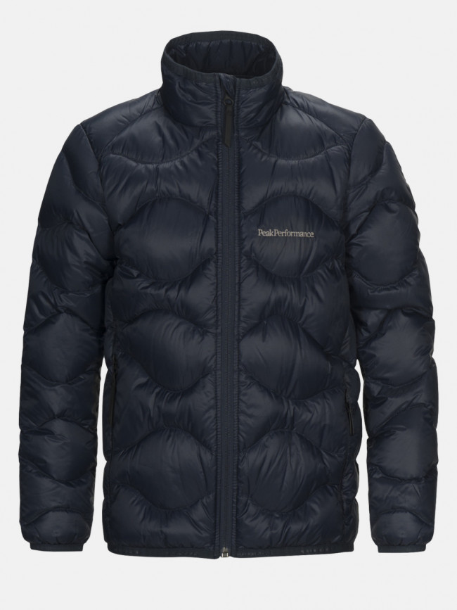 Bunda Peak Performance Jr Heliu J Active Ski Jacket - Modrá