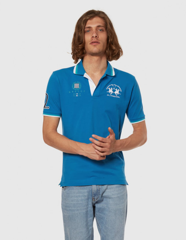 Polokošeľa La Martina Man Polo S/S Piquet Stretch