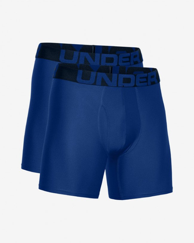 "Under Armour Tech™ 6"" Boxerky 2 ks Modrá"