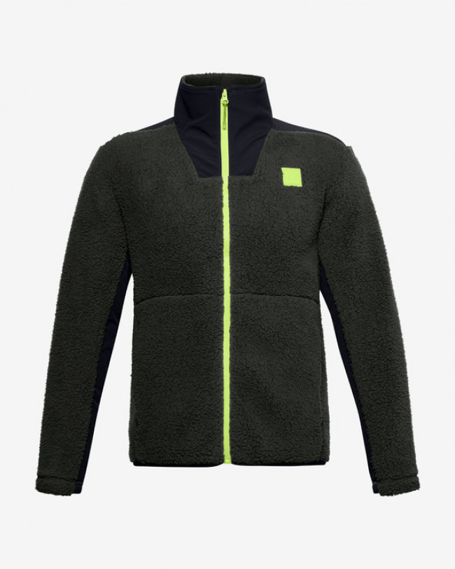Under Armour Legacy Sherpa Bunda Zelená