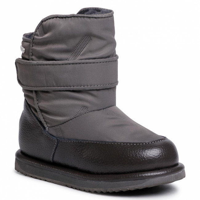Topánky EMU AUSTRALIA - Roth K12360 Charcoal/Anthracite