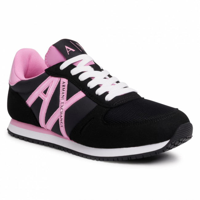 Sneakersy ARMANI EXCHANGE - XDX031 XCC62 M496 Black/Pink