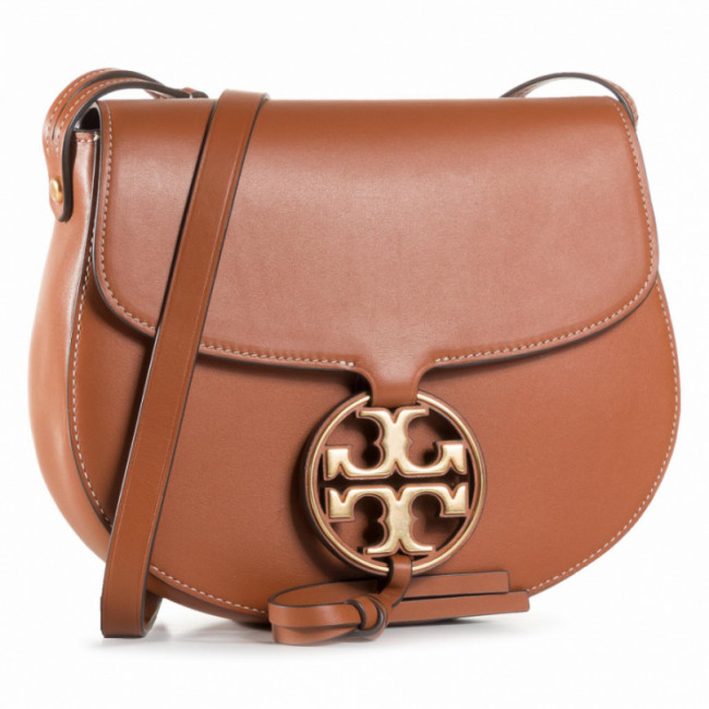 Kabelka TORY BURCH - Miller Metal Saddlebag 65191 Aged Camello 268