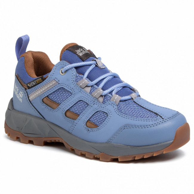 Trekingová obuv JACK WOLFSKIN - Vojo Hike Xt Vent Low W 4039061 Light Blue/Brown