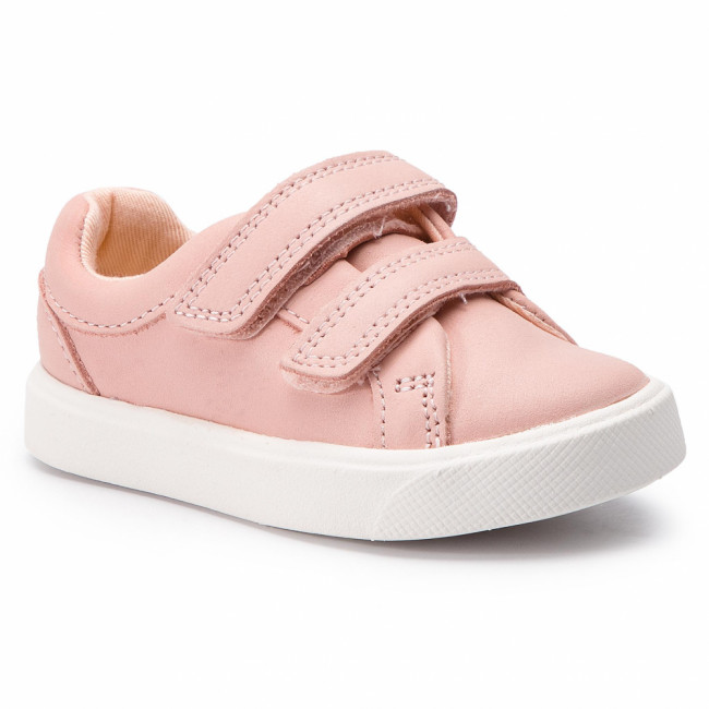 Sneakersy CLARKS - City OasisLo T 261405026 Pink