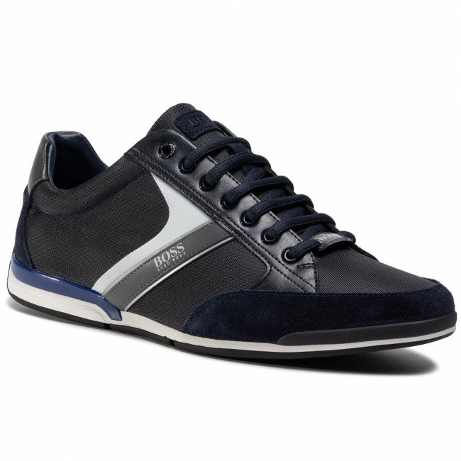 Sneakersy BOSS - Saturn 50407672 10216105 01 Dark Blue 408