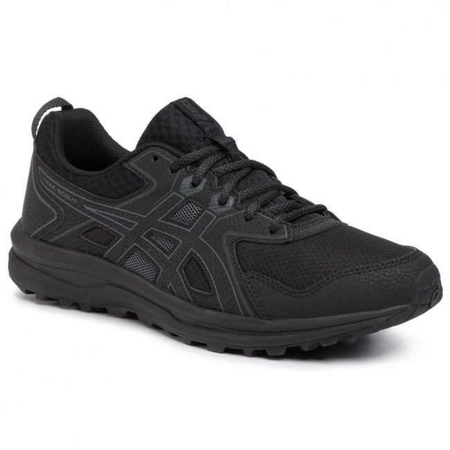 Topánky ASICS - Trail Scout 1011A663 Black/Carrier Grey 001