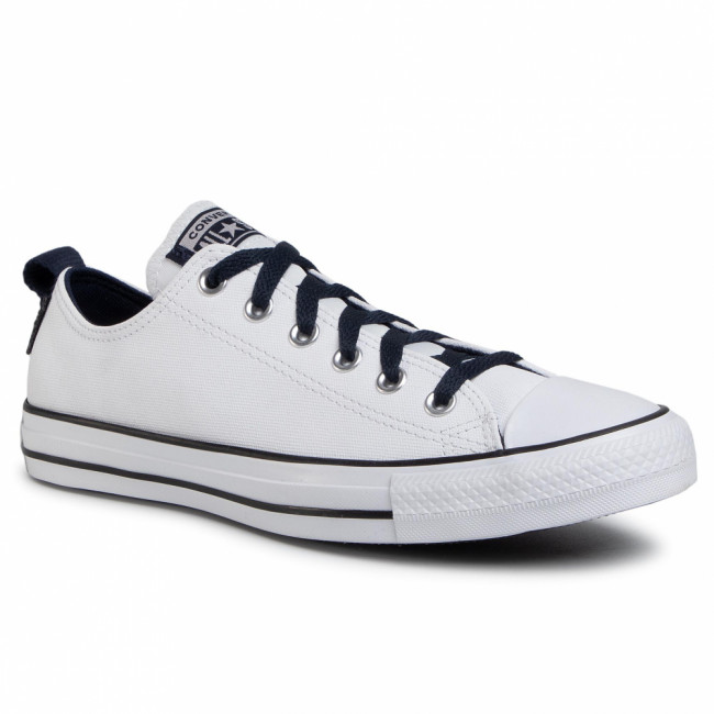 Tramky CONVERSE - Ctas Ox 168712C White/Obsidian/Bla