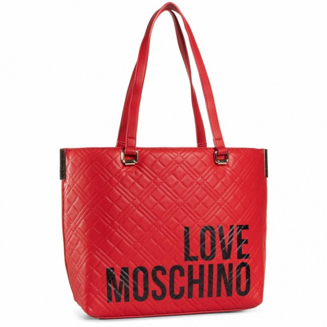 Kabelka LOVE MOSCHINO - JC4229PP0BKE050A Rosso