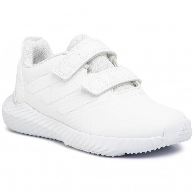 Topánky adidas - FortaGym Cf K G27204 Ftwwht/Ftwwht/Greone