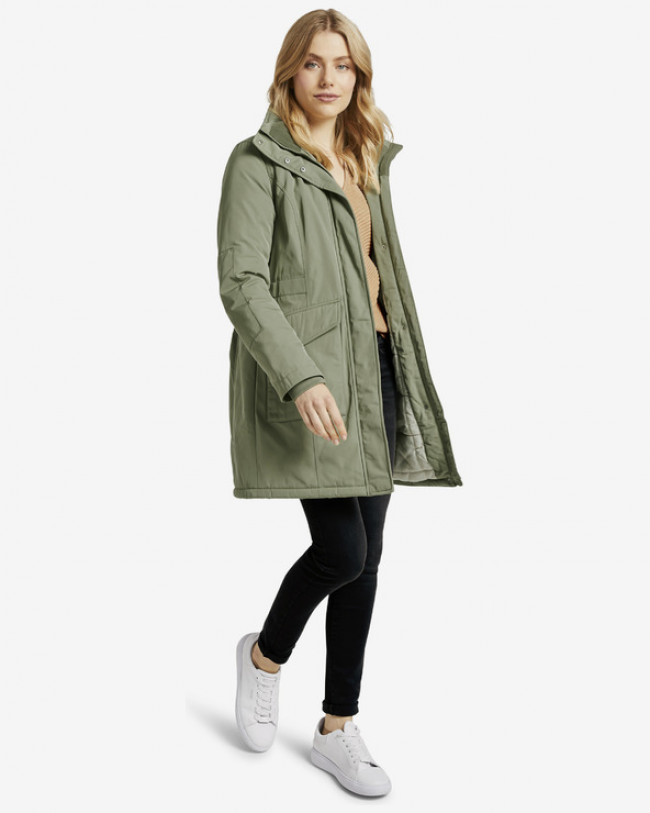 Tom Tailor Winter Parka Zelená