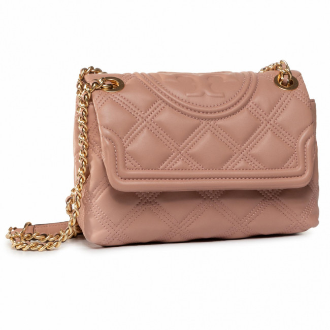 Kabelka TORY BURCH - Fleming Soft Small Convertible Shoulder Bag 58102 Pink Moon 689