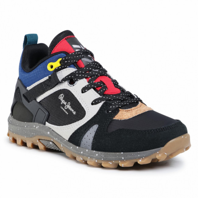 Sneakersy PEPE JEANS - Arcade Trail PBS50086  Black 999