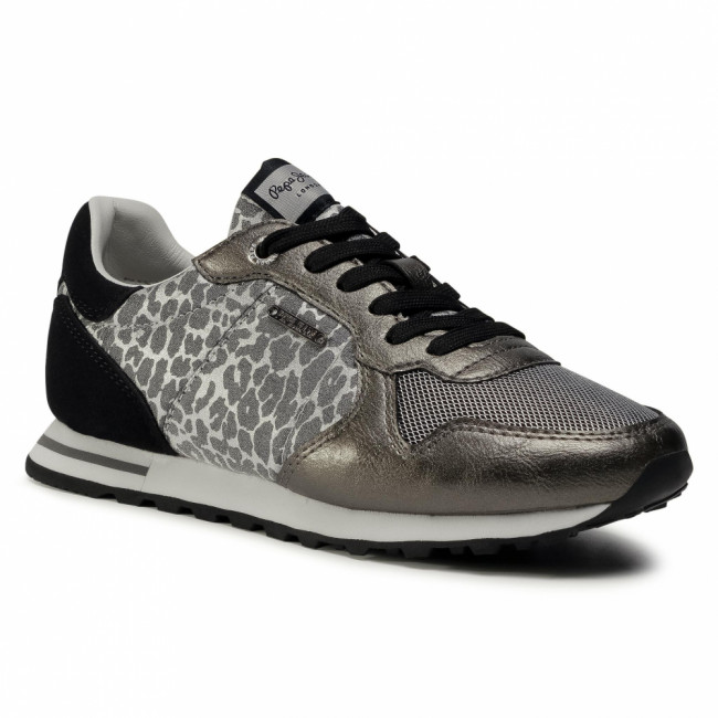 Sneakersy PEPE JEANS - Verona W Day PLS31033  Silver 934