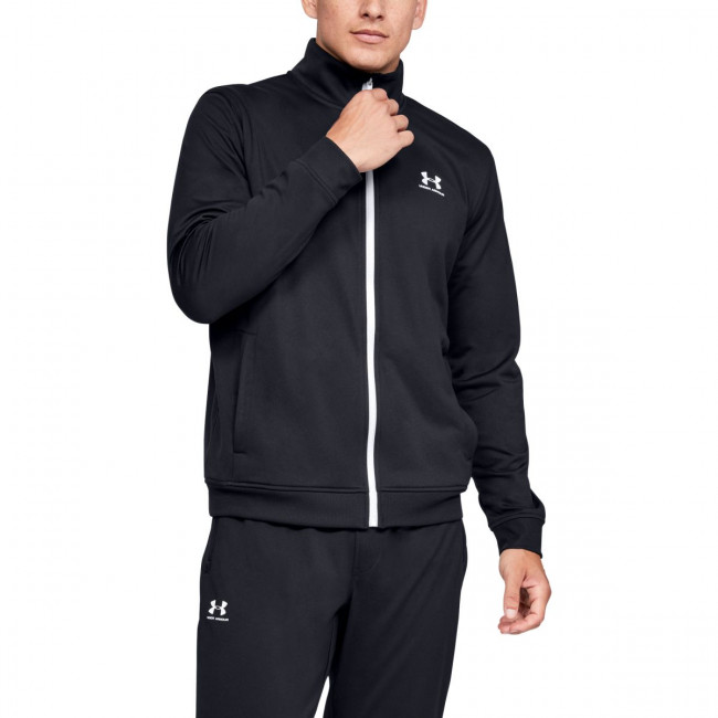 Bunda Under Armour SPORTSTYLE TRICOT JACKET-BLK