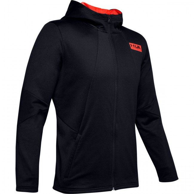 Mikina Under Armour Gametime Fleece Fz-Blk