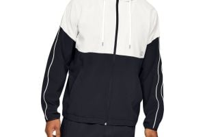 Mikina Under Armour Athlete Recovery Woven Warm Up