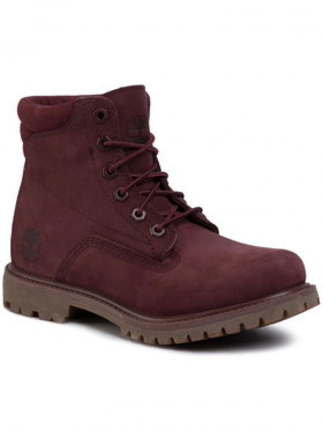 Timberland Outdoorová obuv Waterville 6 In Waterproof Boot TB0A1R2TC601 Bordová