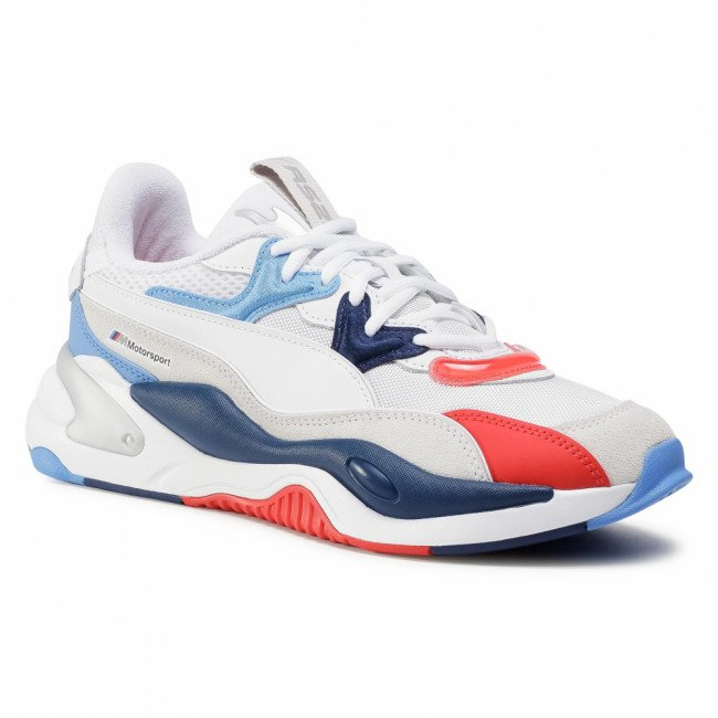 Sneakersy PUMA - Bmw Mms Rs-2K 306536 02 P White/Marina/High Risk Red