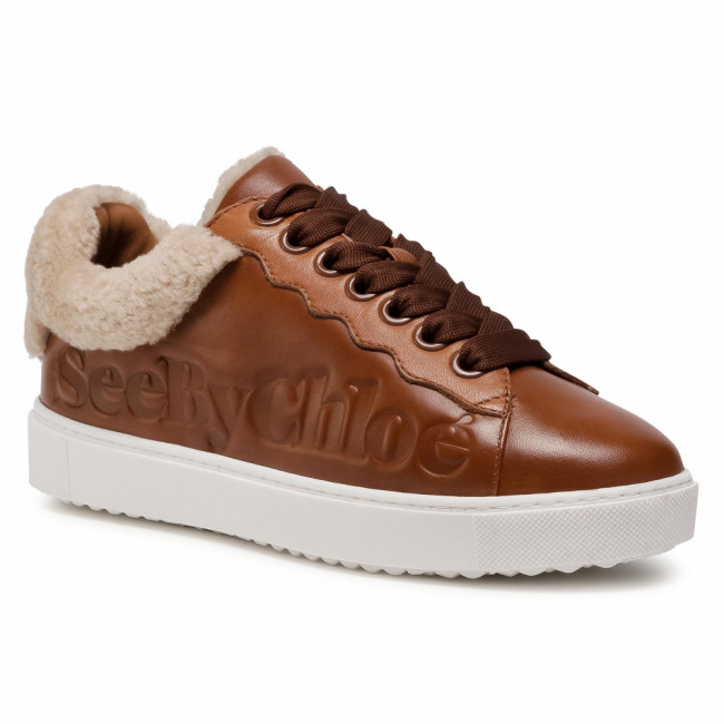 Sneakersy SEE BY CHLOÉ - SB35191A  Shearling 113