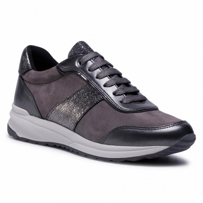 Sneakersy GEOX - D Airell A D942SA 022NF C9002 Dk Grey