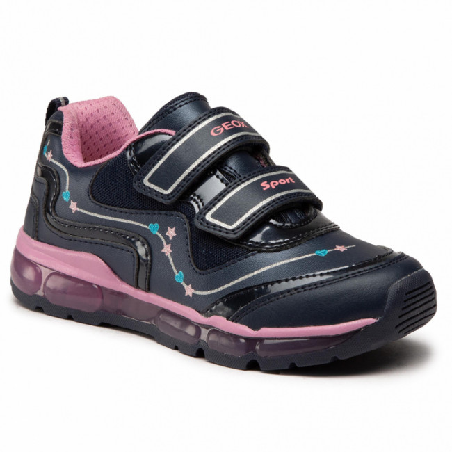 Sneakersy GEOX - J Android G. B J0445B 000BC C0965 D Navy/Dk Pink