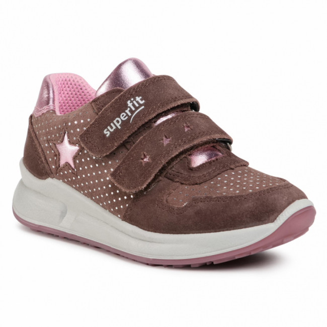 Sneakersy SUPERFIT - 1-000187-8500 M Lila/Rosa