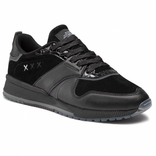 Sneakersy SCOTCH & SODA - Vivex 21831218 Black S00